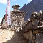 Trek Langtang , village de Langtang