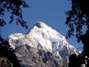 Trek Langtang , premier sommet Langtang II (6596 m)