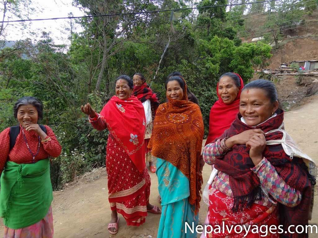 randonnée Vallée de Katmandou