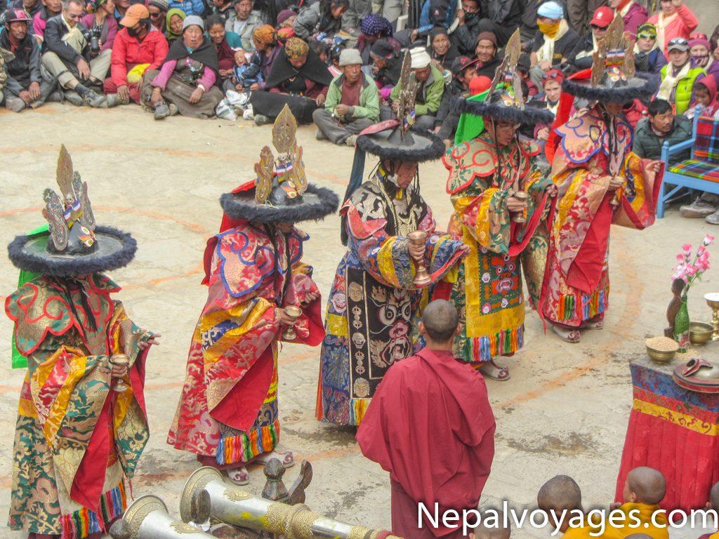 festival de Tiji au mustang