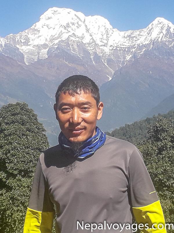 Dorje Tamang Balcon des Annapurnas